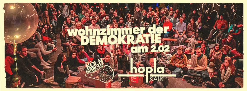 Köln spricht am 2. Februar 2020 im Hopla in Kalk